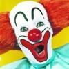 bozo clown face