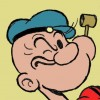 Popeye head face feature