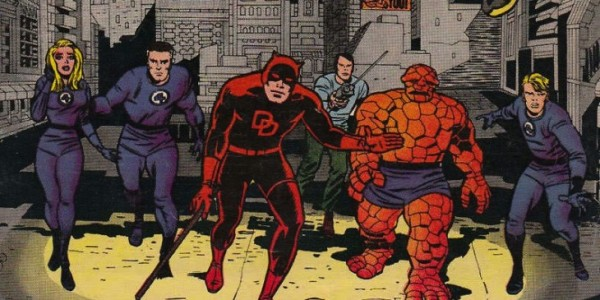 Daredevil Fantastic Four