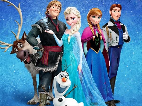 frozen header characters
