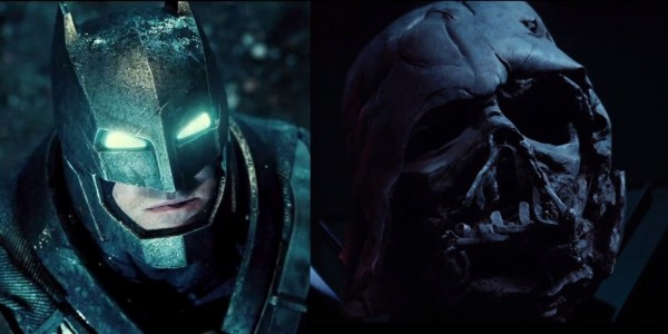batman v superman darth vader trailers
