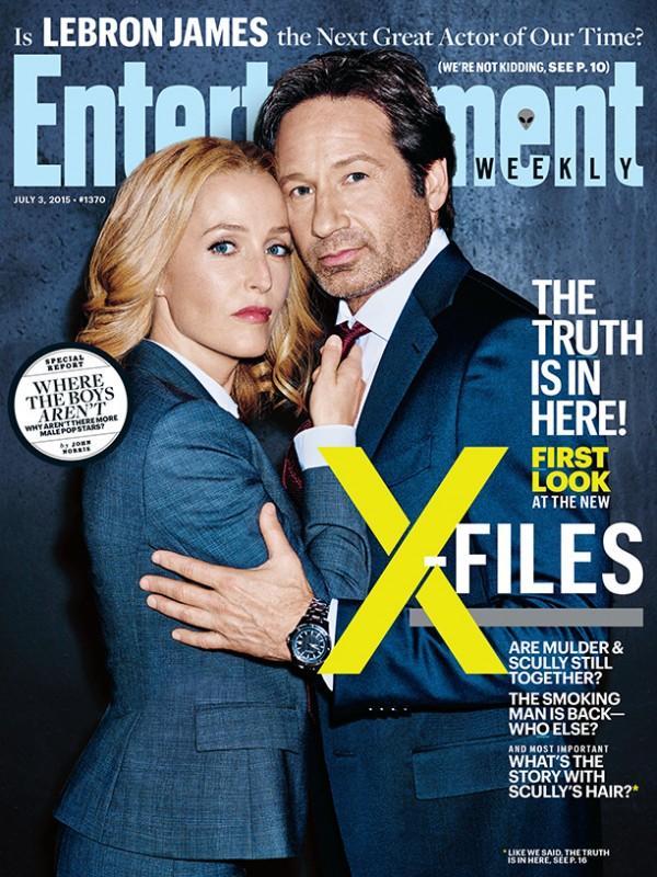 x-files ew cover