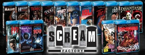 Scream Factory banner