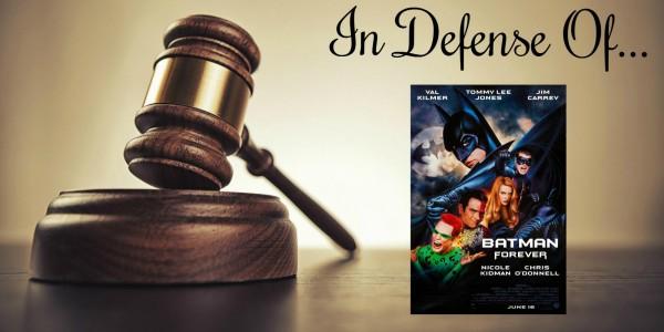 in defense of batman forever