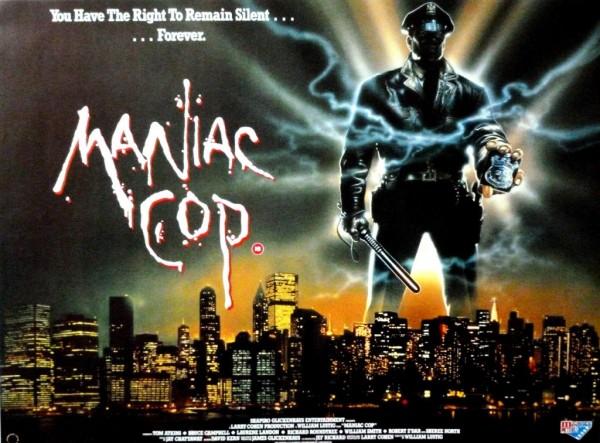 maniac cop poster banner