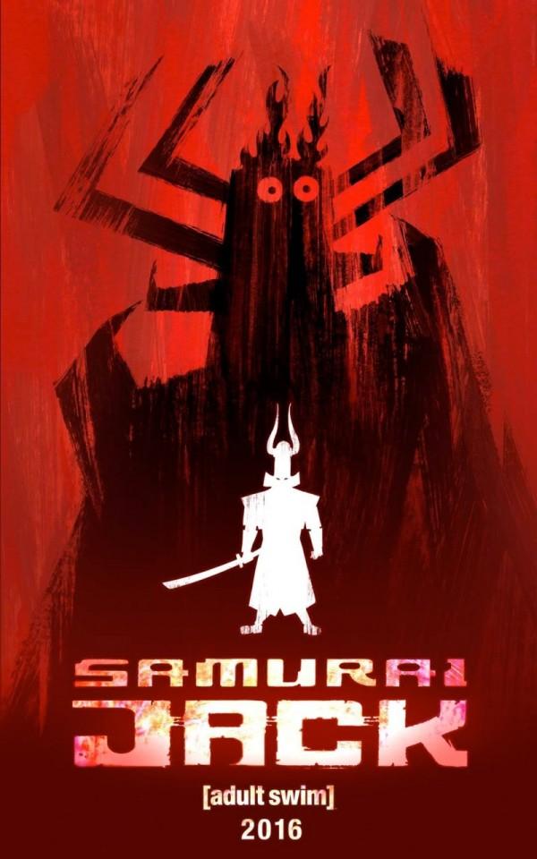 samurai jack teaser poster