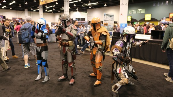 star wars boba fett cosplayers